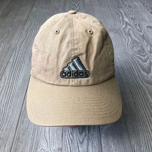 Adidas Climalite Tan Strap Back Adjustable Hat OS